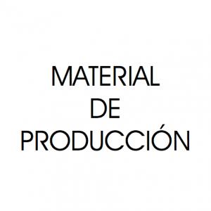 Material de producción