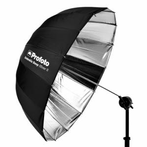 Umbrella Deep Silver S  300x300 - PARAGUAS PROFOTO DEEP S PLATA + DIFUSOR