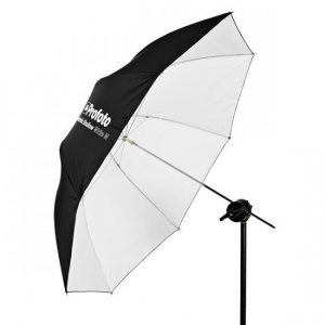Umbrella Shallow White  1 300x300 - PARAGUAS PROFOTO SHALLOW M BLANCO + DIFUSOR