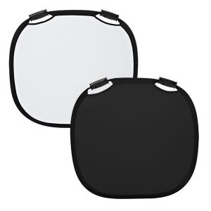 reflector plegable profoto black white 300x300 - Reflector negro/blanco L Profoto 120cm/47″