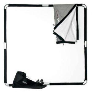 skylite 2x2 300x300 - Reflector Skylite 2x2 Telas blanca/negra WD 1 stop