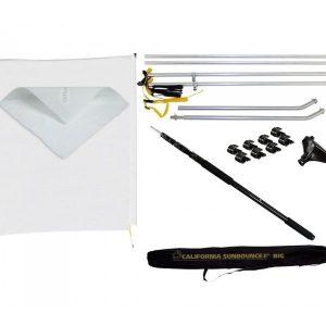 sun swatter big 2 3tel super saver starter kit 600x600 300x300 - Kit California Sun Swatter Big 1,83x2,44 M-6'X 8′ + Tela W/D