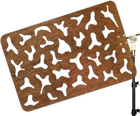 wooden cookie - Pulmón madera 69x90