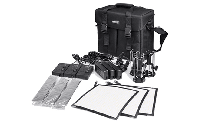 KIT x3 Panel Flexible CINEROID 690x400 - CINEROID 3S Kit de 3 paneles flexibles 25x25